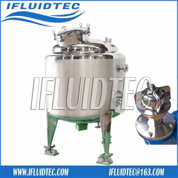 Magnetic-agitator-stirring-tank-with-loadcell-ifluidtec