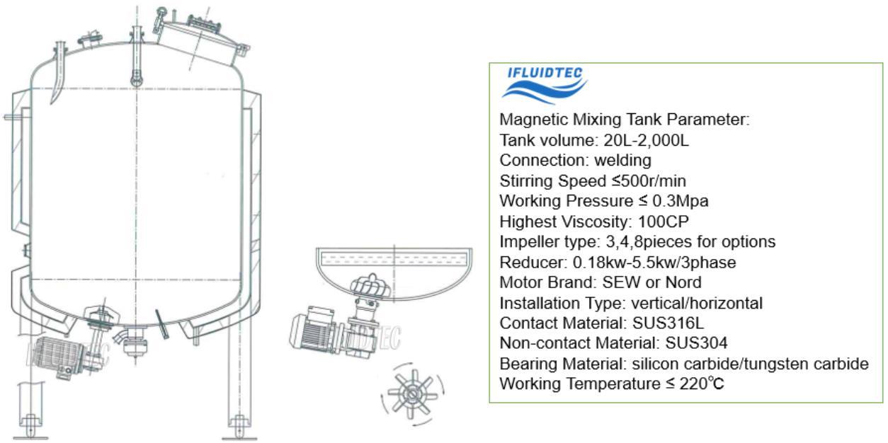 steel-mixing-vessel-technical-data-ifluidtec