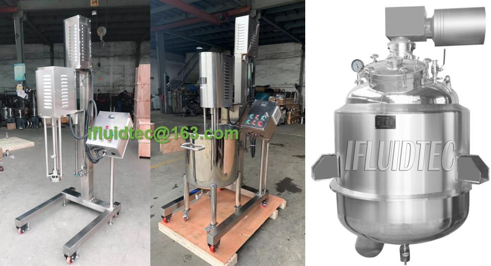 top-entry-high-shear-emulsification-tank-ifluidtec