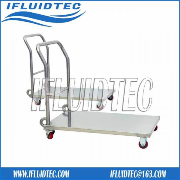 stainless-steel-trolley-with-castors
