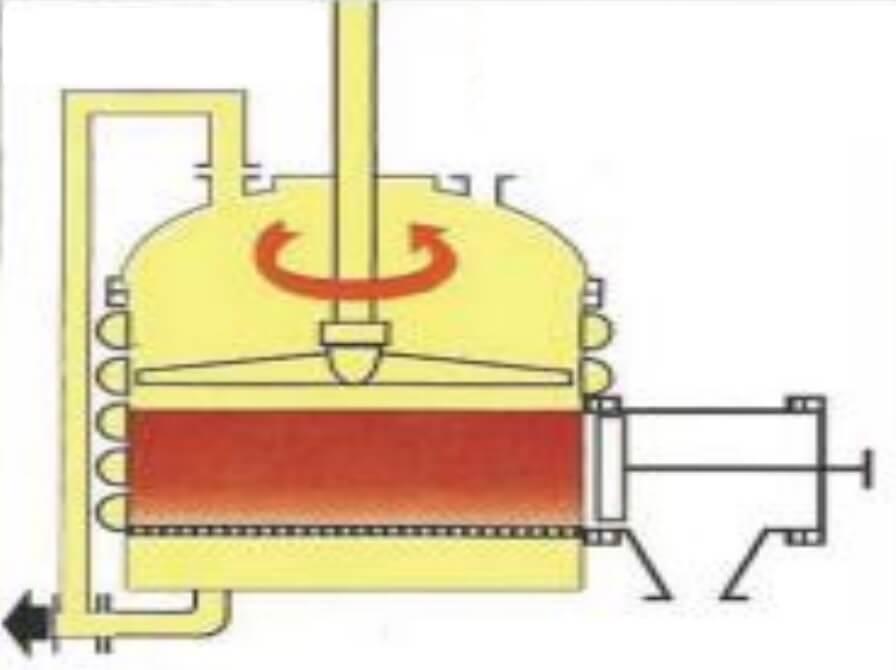 filtering-cake-drying